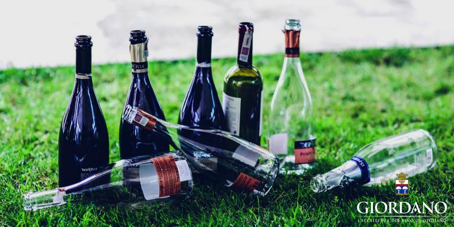 abbastanza 7 idee per il riciclo creativo delle bottiglie | Blog | Giordano Vini PH52