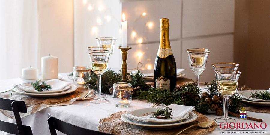 Idee per la tavola di natale blog giordano vini - La tavola di melusinda ...
