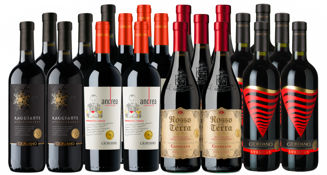 Vini Rossi Crazy Selection