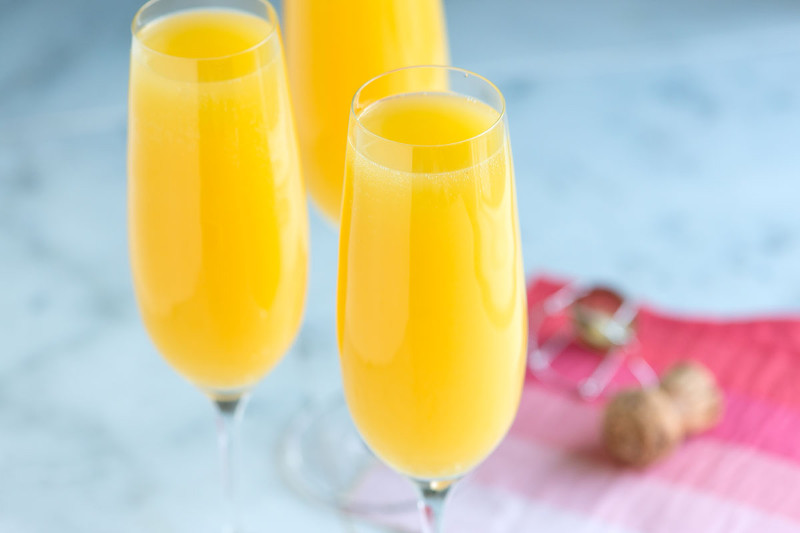 Come preparare il cocktail Mimosa
