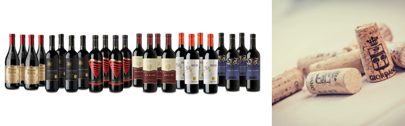 Rossi Top Selection, vini intensi e passionali per un assortimento Best Seller Giordano